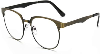 wayfarer metal frame  SOOLALA Vintage Wayfarer Metal Frame Round Reading Glasses ...